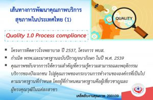 Quality 1.0 Process compliance